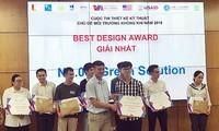 Green Solution获得2019年空气环境主题设计大赛一等奖