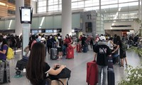 将在美国的340多名越南公民接回国