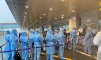 将在中东和非洲的越南公民接回国