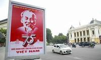 世界各国领导人电贺越南国庆75周年
