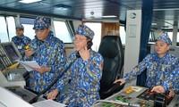 越南和中国共建和平、稳定与合作的海域