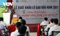 2021年初 越南向马来西亚和新加坡出口1600吨大米