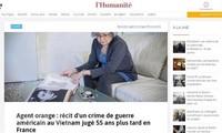 法国法院审理橙剂受害者诉讼案