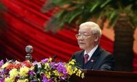 捷克和摩拉维亚共产党领导人向越共中央总书记、国家主席阮富仲致贺电