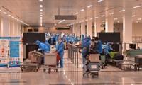 将340名在韩国的越南公民接回国