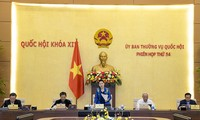 越南国会常务委员会第54次会议落下帷幕