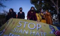 美国总统拜登敦促国会尽快通过新冠仇恨犯罪法案