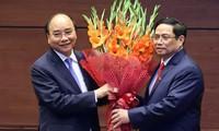 各国领导人向越南新领导人致贺电
