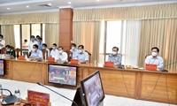 政府总理范明政与西南部6省领导人召开会议