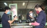岘港集中在工业区进行防疫工作