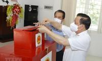 全国6900万选民将行使选举权利
