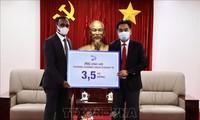 外资企业助力越南防疫