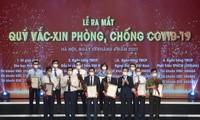 国际组织驻越代表高度赞赏新冠疫苗基金会