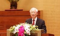 胡志明主席的思想道德和作风是越南民族的无价之宝