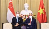 新加坡希望进一步发展与越南的战略伙伴关系