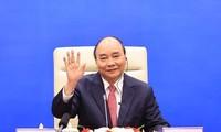 越南国家主席阮春福在亚太经合组织领导人非正式会议上的讲话(全文)