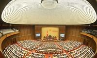 越南第十五届国会第一次会议:健全人事,决定经济社会发展重要规划