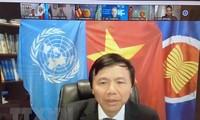 越南支持在打击恐怖主义和暴力极端主义的斗争中纳入性别问题