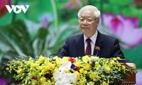 越共中央总书记阮富仲撰写的署名文章强调越南共产党正确的视野