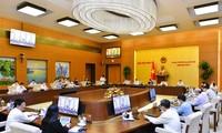 国会常务委员会就提交第十五届国会第二次会议审议的内容进行讨论