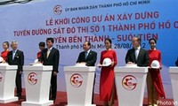 Work starts on Ho Chi Minh City's first metro line