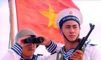 Exchange show: Hoang Sa – Truong Sa fishermen and border guards