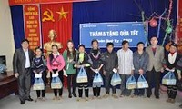 Policy beneficiaries receive care for their Tet celebration