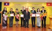Lao honors Vietnam's training assistance