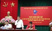 Hanoi Students' Association opens its 6th congress