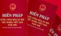 Revisions to the 1992 Constitution to be adopted