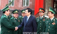 President highlights people's national defense