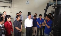 Prime Minister Nguyen Tan Dung visits Da Phuoc Waste Treatment Complex