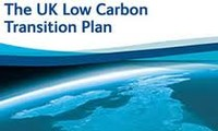 The UK is behind its low-carbon target