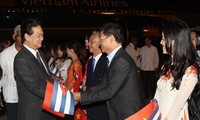 Prime Minister Nguyen Tan Dung begins an official visit to Cuba