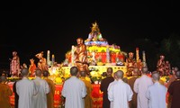 Buddhism ceremony prays for peaceful world