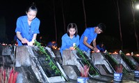 Young people in commemoration of heroic martyrs in Ha Giang