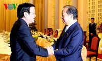 President Truong Tan Sang receives Japanese Lower House Budget Committee Chairman