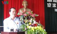 Deputy PM Vu Van Ninh meets voters in Nam Dinh