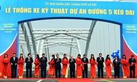 Several facilities inaugurated to mark Hanoi's 60th liberation anniversary