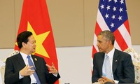 US President commits to enhance cooperation with Vietnam and ASEAN