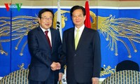 Prime Minister Nguyen Tan Dung meets with Busan Mayor