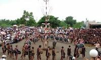 Buffalo sacrifice festival of the Bana