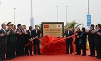 Major transport facilities open in Hanoi