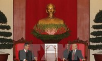 Laos, Vietnam reinforce their special relationship