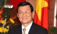 President Truong Tan Sang receives Ambassadors of Peru, Russia, Algeria, Brazil