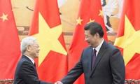 Chinese media highlights Party leader Nguyen Phu Trong's visit to China