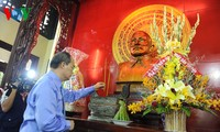 VFF President visits President Ton Duc Thang memorial house