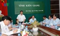 Kien Giang province's border delineation, marker planting praised