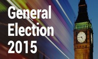 Intense UK election