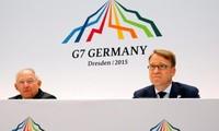 G7 Finance Ministers reach consensus on cutting public debt, budget deficit